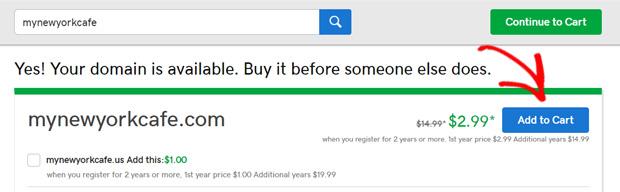 add-to-cart-domain-godaddy