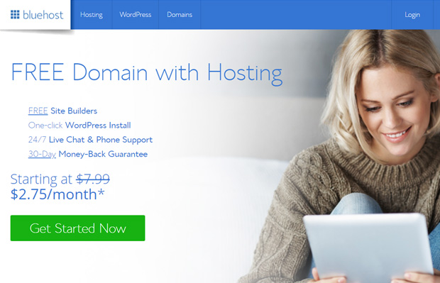 bluehost-web-hosting-and-free-domain