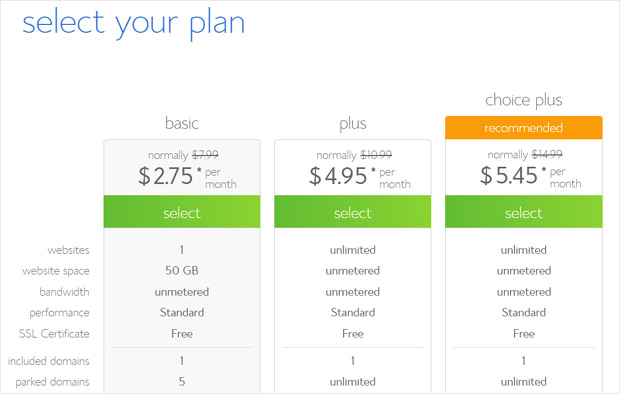 select-bluehost-plan