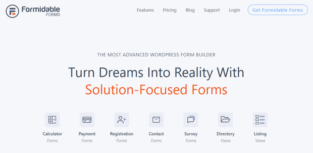 formidable forms advanced form builder