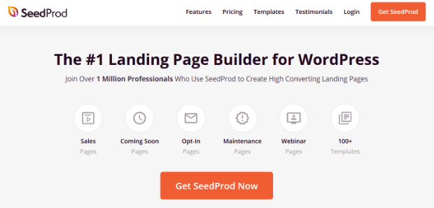 seedprod best page builder